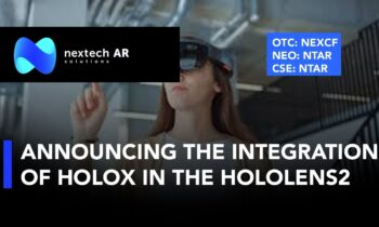 Nextech AR; Discussing the Integration of the Company's HoloX Into the HoloLens2